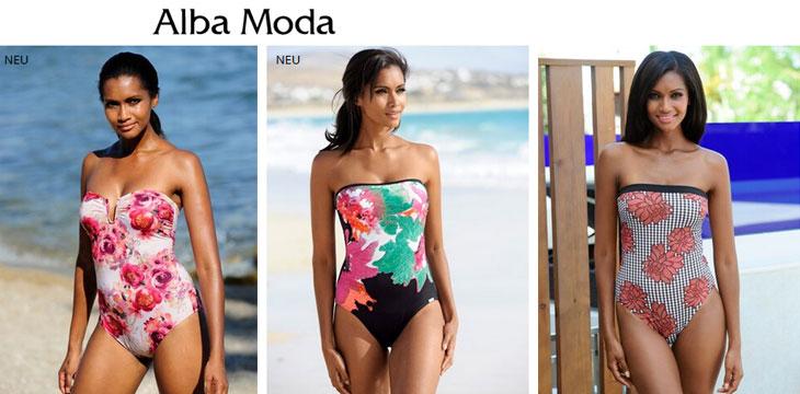 Купальники Alba Moda