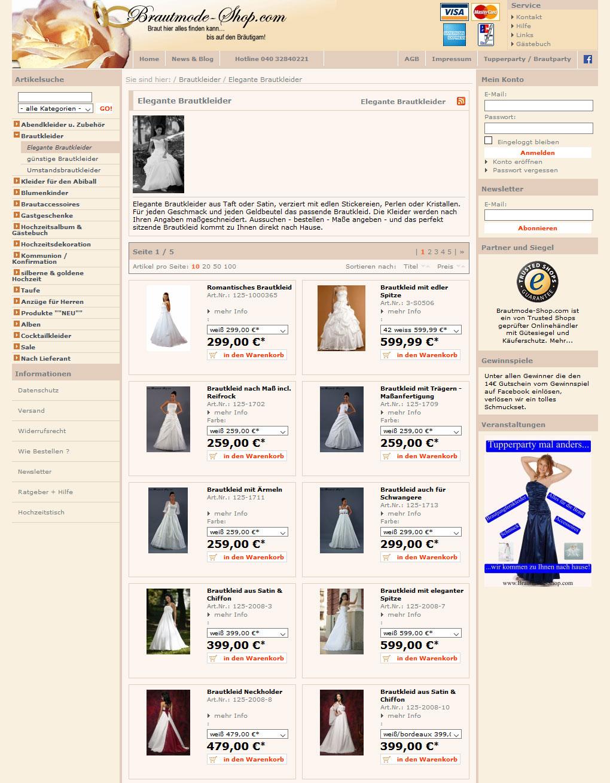 Магазин свадебных платьев Brautmode